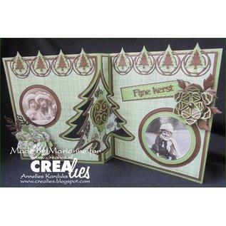 Crealies und CraftEmotions cutting dies, Stencils, Crealies Create A Card