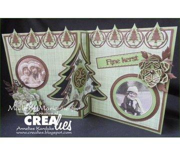 Crealies und CraftEmotions Snij Stencils, Crealies Maak een kaart