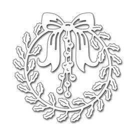 Penny Black Estêncis De Perfuração, Penny Black, Christmas Wreath