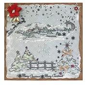 VIVA DEKOR (MY PAPERWORLD) Christmas tinker, motif stamp Christmas