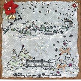 VIVA DEKOR (MY PAPERWORLD) Calderero de Navidad, sello de motivo de Navidad