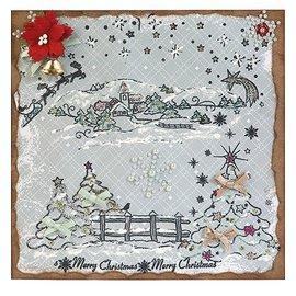 VIVA DEKOR (MY PAPERWORLD) Bricoleur de Noël, timbre à motifs de Noël