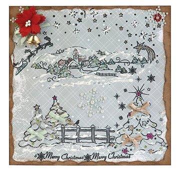 VIVA DEKOR (MY PAPERWORLD) Natale stagna, timbro natalizio