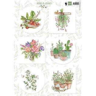 Marianne Design Hoja de imagen A4, otoño y hojas