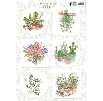Marianne Design Quadro A4, autunno e foglie