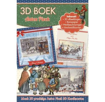 Bücher, Zeitschriften und CD / Magazines Craft book for the design of 20 Christmas cards, 3D cards