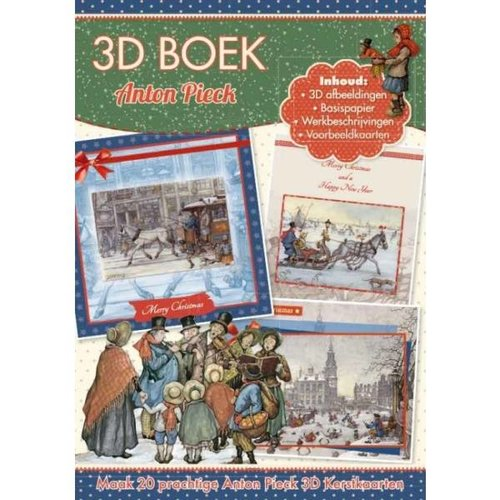 Bücher, Zeitschriften und CD / Magazines Handboek voor het ontwerpen van 20 kerstkaarten, 3D-kaarten