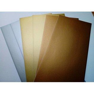 STICKER / AUTOCOLLANT Sticker foils, very fine, silver, gold and copper
