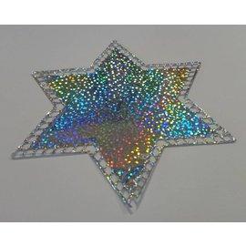 STICKER / AUTOCOLLANT Pellicole adesive, trasparenti, argento, verde e rosso
