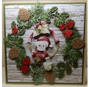Bilder, 3D Bilder und ausgestanzte Teile usw... 3D Decoupage, Precious Marieke, Glædelig Jul, Julemanden