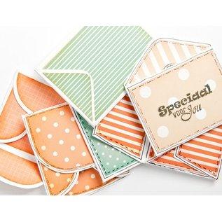 Marianne Design Kaarten en scrapbookpapier, dots & stripes, 30,5 x 30,5 cm