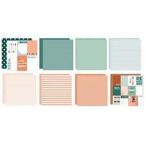 Marianne Design Kaarten en scrapbookpapier, stippen en strepen