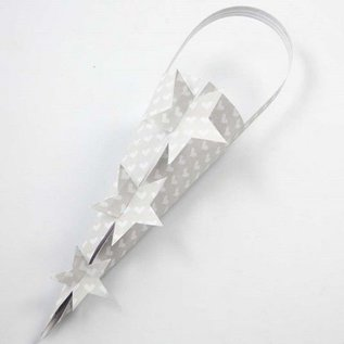 Designer Papier Scrapbooking: 30,5 x 30,5 cm Papier Cards and scrapbooking paper, 30.5x30.5 cm, 8 sheets + FREE template star cones