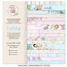Designer Papier Scrapbooking: 30,5 x 30,5 cm Papier Kort og scrapbooking papir, 30,5x30,5 cm, baby