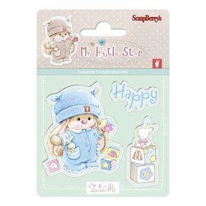 Stempel / Stamp: Transparent Kaarten maken en scrapbook albums met Stempel motief, Baby