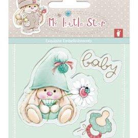 Stempel / Stamp: Transparent Motif de timbre, bannière: bébé