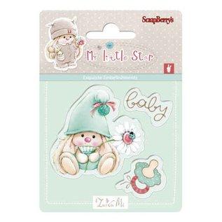 Stempel / Stamp: Transparent Kaarten maken, Stempel motiv, Transparent: Baby