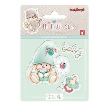 Stempel / Stamp: Transparent Motivo del timbro, banner: Baby