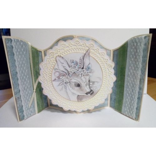 AMY DESIGN AMY DESIGN, Punching and embossing stencils: Wild Animals - African Circle