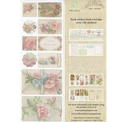 Embellishments / Verzierungen C'est la Vie, Sticker Book 5 pages, 120 stickers