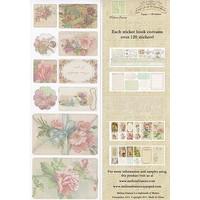 C'est la Vie, Sticker Book 5 pages, 120 stickers