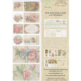 Embellishments / Verzierungen C'est la Vie, Sticker Book 5 pages, 120 stickers