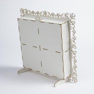 Holz, MDF, Pappe, Objekten zum Dekorieren Shadow Box, aus Holz