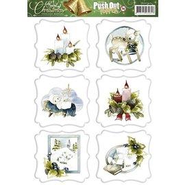 Bilder, 3D Bilder und ausgestanzte Teile usw... vorgestanzter Bogen, Weihnachtsmotive