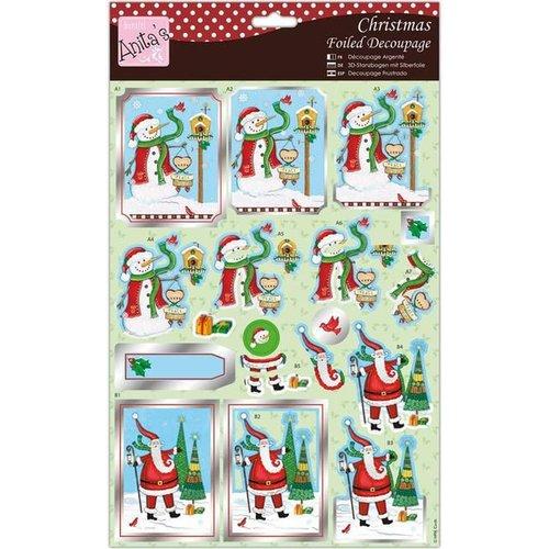 Knöpfe Weihnachtsmotive.Bilder 3d Bilder Und Ausgestanzte Teile Usw Vorgestanzter 3d Bogen Weihnachtsmotive