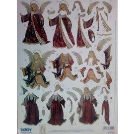 Bilder, 3D Bilder und ausgestanzte Teile usw... pre-cut 3D sheet, Christmas motives