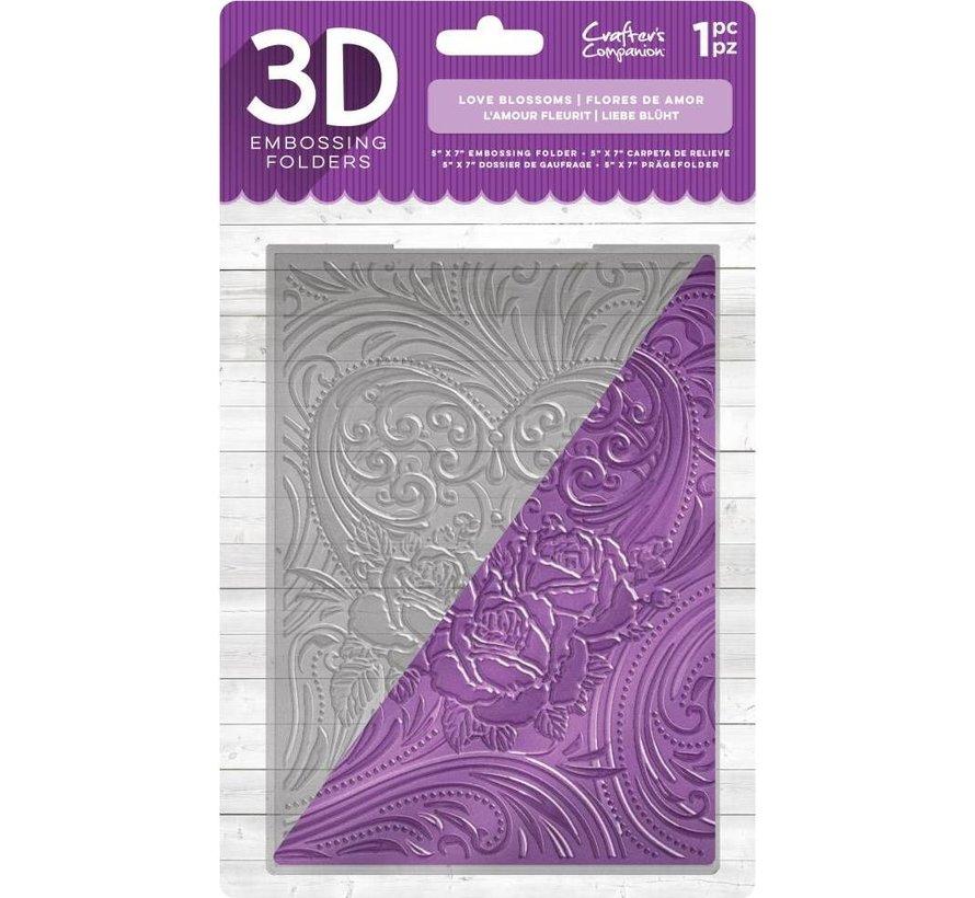 3D embossing folder