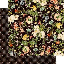 Karten und Scrapbooking Papier, Papier blöcke Kort og scrapbogpapir, 30,5 x 30,5 cm, Bird Song