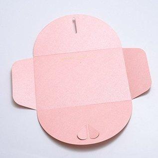 Karten und Scrapbooking Papier, Papier blöcke Cards and Scrapbooking Paper, 30.5 x 30.5 cm, Pearl Shine Pink
