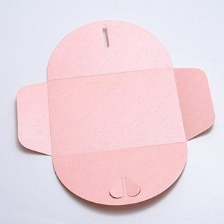 Karten und Scrapbooking Papier, Papier blöcke Tarjetas y papel Scrapbooking, 30.5 x 30.5 cm, Pearl Shine Pink