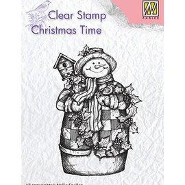 Stempel / Stamp: Transparent Stamp motif, banner: Snowman