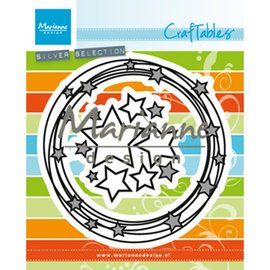 Marianne Design Plantillas de corte, Circle & stars