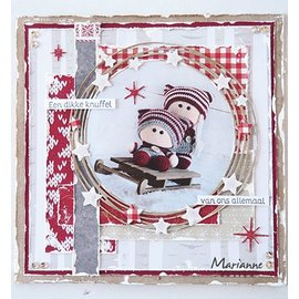 Marianne Design Cutting dies, Circle & stars