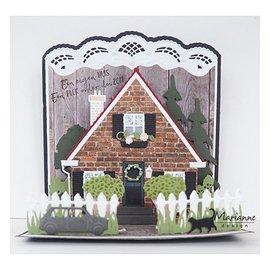Marianne Design Modelos de perfuração, construir uma casa