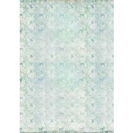Karten und Scrapbooking Papier, Papier blöcke Papier pour cartes et scrapbooking, A4, sentiment hivernal
