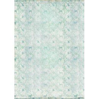 Karten und Scrapbooking Papier, Papier blöcke Kaarten en scrapbookpapier, A4, wintergevoel