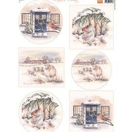 Marianne Design Picture sheet A4, Mattie's most beautiful winter