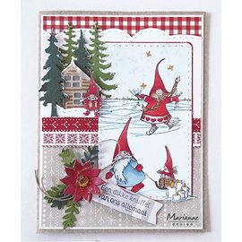 Stempel / Stamp: Transparent Stempel motiv, Transparent, Hetty's gnomes