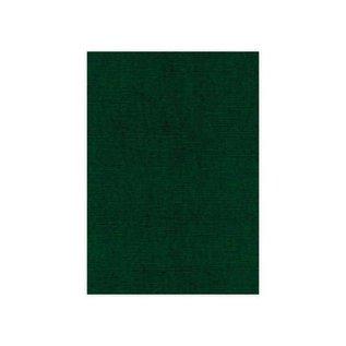 Karten und Scrapbooking Papier, Papier blöcke Linen cardboard, A5, Christmas green, 10 sheets