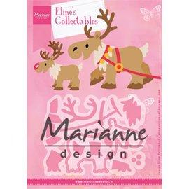 Marianne Design Modèles de poinçonnage, rennes d'Eline
