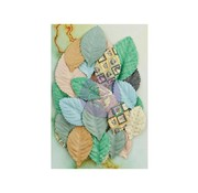 Prima Marketing und Petaloo Scrapbooking Embellishment, Prima Flowers, 36 Blätters