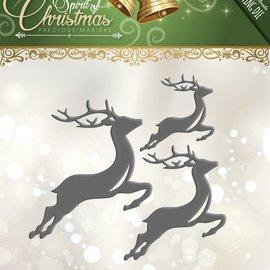Precious Marieke Cutting dies, reindeers