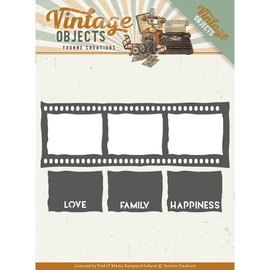 Precious Marieke cutting Dies, Vintage Film Strip