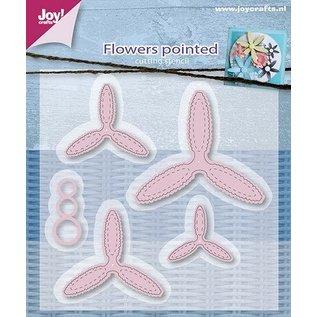 Joy!Crafts / Jeanine´s Art, Hobby Solutions Dies /  snijsjablonen,  Timeless Flowers , Clematis Oval - Copy