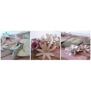 Joy!Crafts / Jeanine´s Art, Hobby Solutions Dies /  Morre De Perfuração, Flores Intemporais, Clematis Oval - Copy