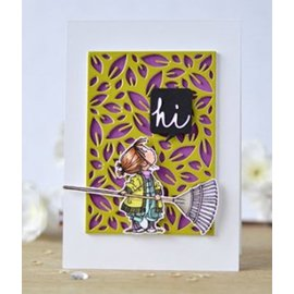 Penny Black Rubber Stamp, Rubber, Hello Autumn